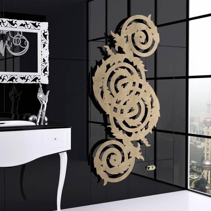 Vestíbulos, pasillos y escaleras de estilo  por Varela  Design
