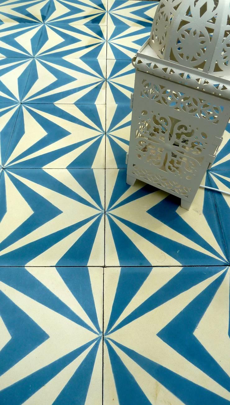 Walls & flooring by Maria Starling Design