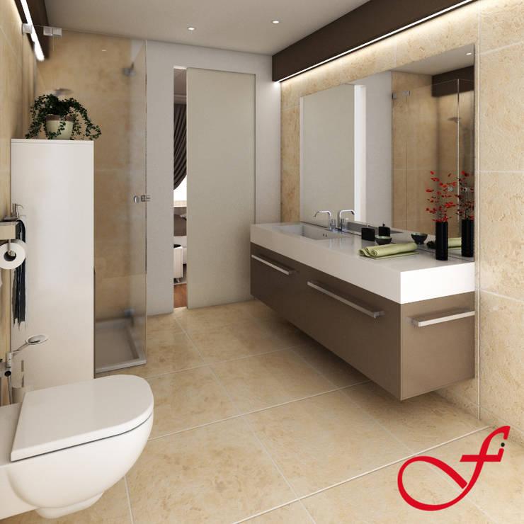 Bathroom by Fenice Interiors