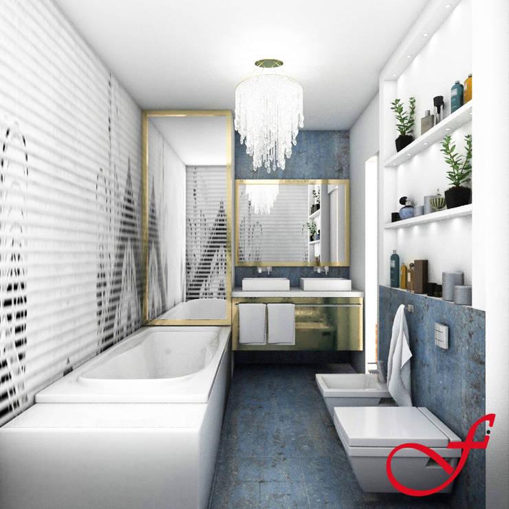 Residenza privata SG: Bagno in stile  di Fenice Interiors