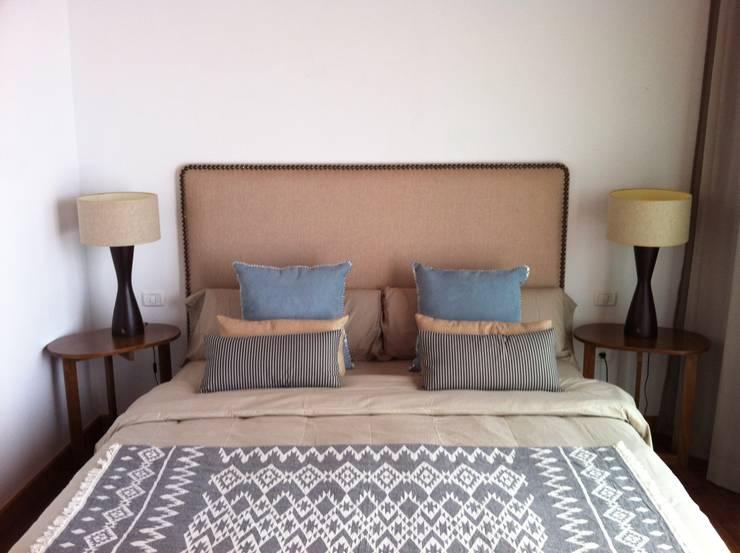 Decoración villa: Dormitorios de estilo  de Tatiana Doria,   Diseño de interiores