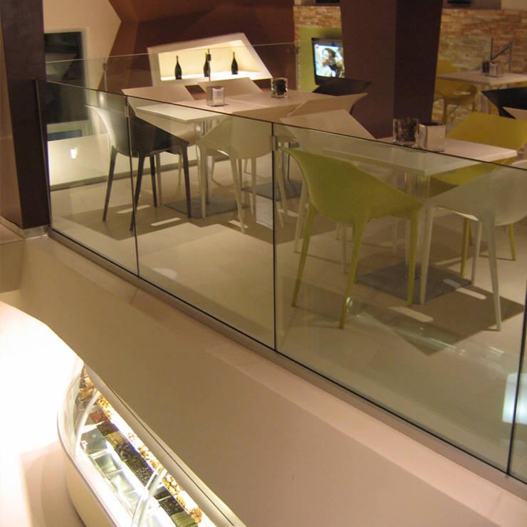 Sfoglie: Negozi & Locali commerciali in stile  di PPStudioDesign