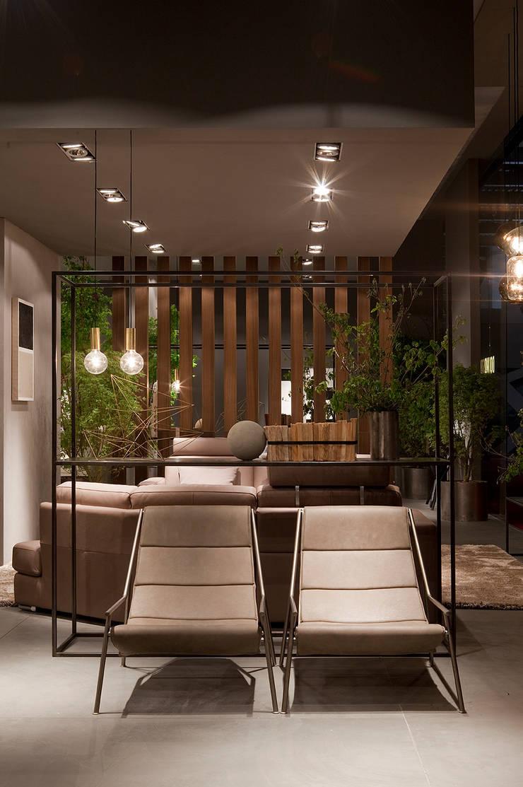 Industrial design - Doimo sofas -Moon:  in stile  di IMAGO DESIGN