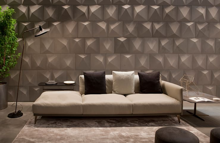 Industrial design - Doimo sofas - Stile libero: Soggiorno in stile  di IMAGO DESIGN
