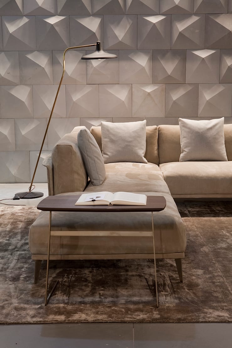 Industrial design - Doimo sofas - Stile libero: Soggiorno in stile in stile Moderno di IMAGO DESIGN