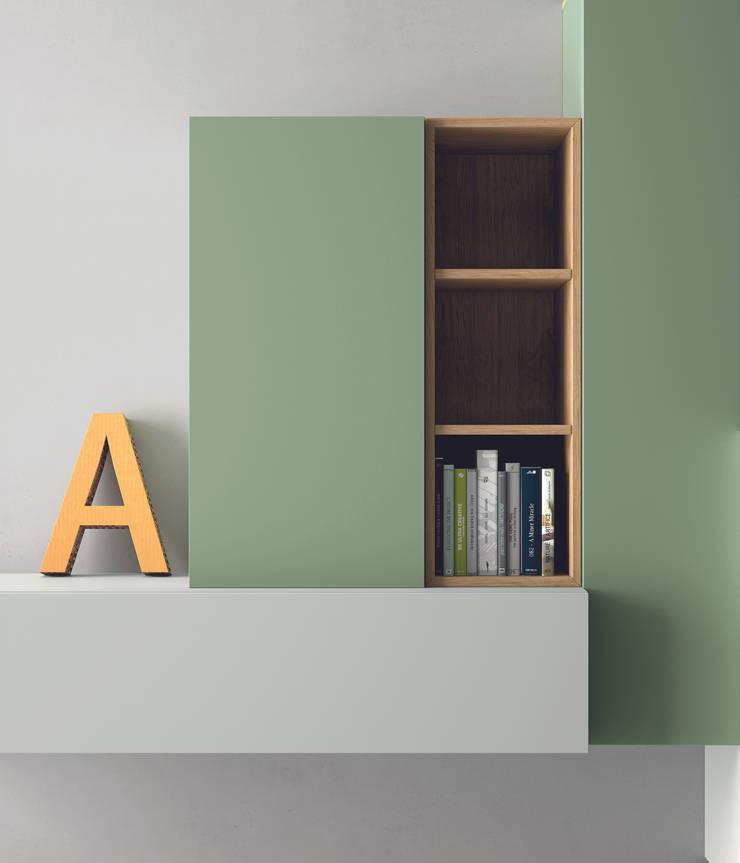 Industrial design - Dall'Agnese - Zona giorno Slim: Soggiorno in stile  di IMAGO DESIGN
