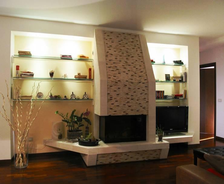 de estilo  por L.A.B. - Luigi Bottalico Architetto, Moderno