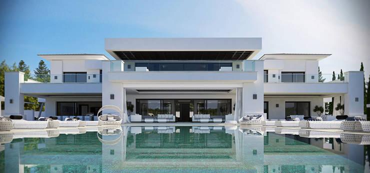 Villa Doñana:  de estilo  de ZETA INFOGRAFIA