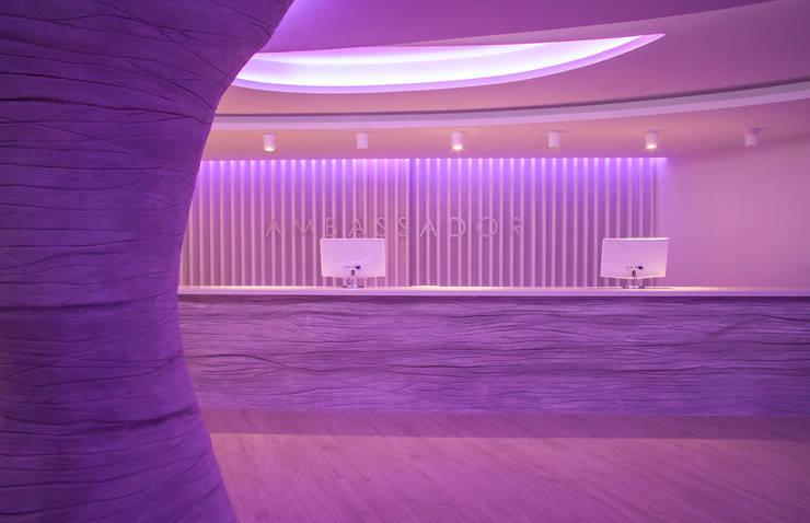 Hotel Ambassador: Hoteles de estilo  de Oscar Vidal Studio
