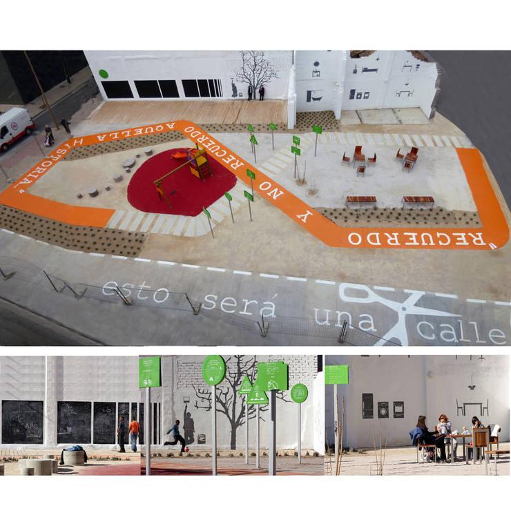 estonoesunsolar: Jardines de estilo  de Gravalosdimonte Arquitectos