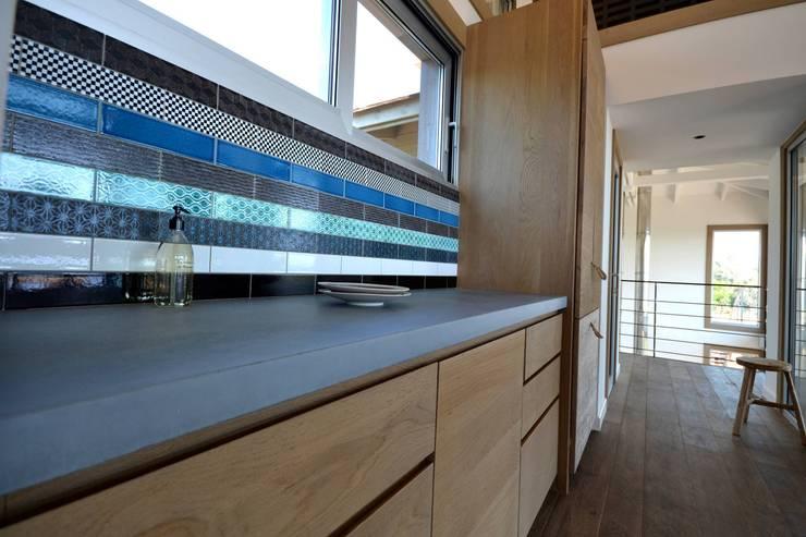 Concrete LCDAが手掛けたキッチン
