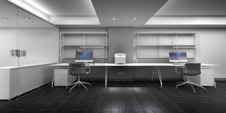 Oficinas y Comercios de estilo  por NSTUDIO