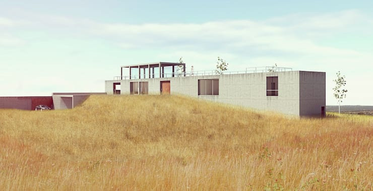 Casas de estilo  por Sergio Casado