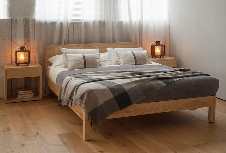Slaapkamer door Natural Bed Company