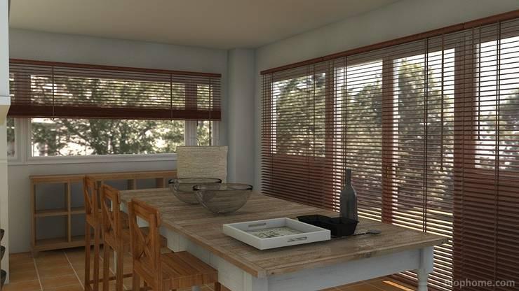 Küche von Tatiana Doria,   Diseño de interiores ,