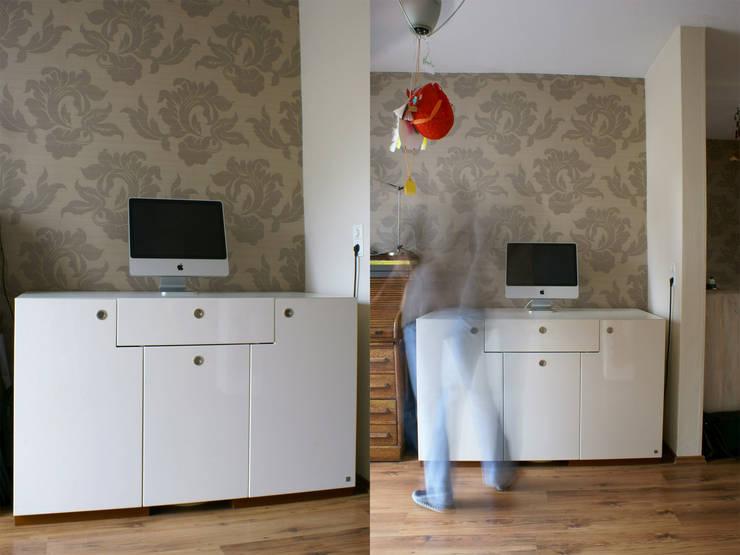 homeoffice:  Arbeitszimmer von hysenbergh GmbH | Raumkonzepte Duesseldorf,Modern