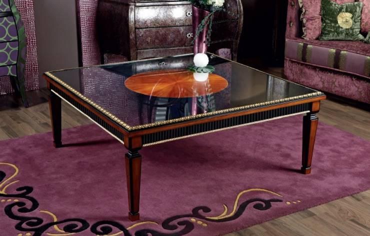 Mesa de centro3: Salones de estilo clásico de MUMARQ ARQUITECTURA E INTERIORISMO