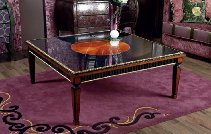 Mesa de centro3: Salones de estilo  de MUMARQ ARQUITECTURA E INTERIORISMO