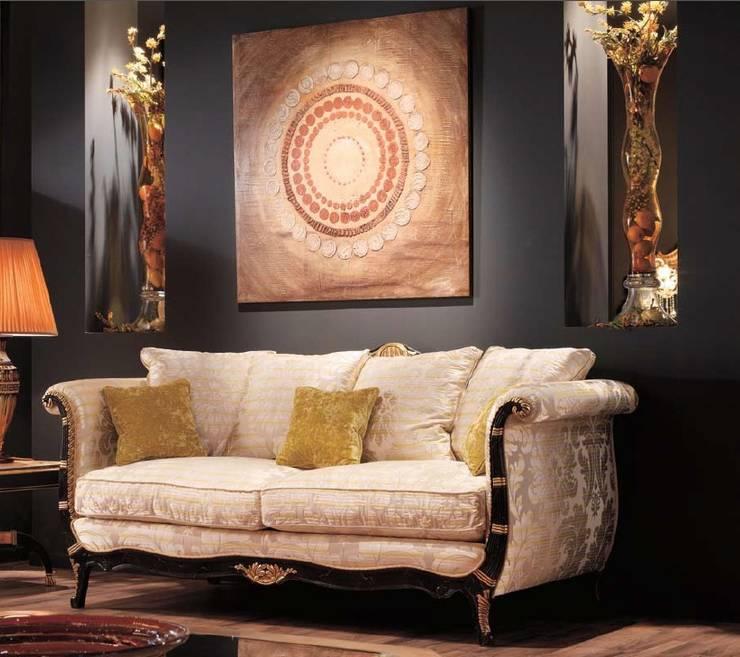 Projekty,  Salon zaprojektowane przez MUMARQ ARQUITECTURA E INTERIORISMO