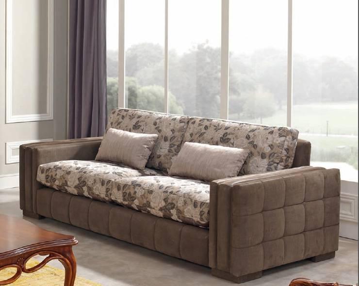 Sofa: Salones de estilo  de MUMARQ ARQUITECTURA E INTERIORISMO