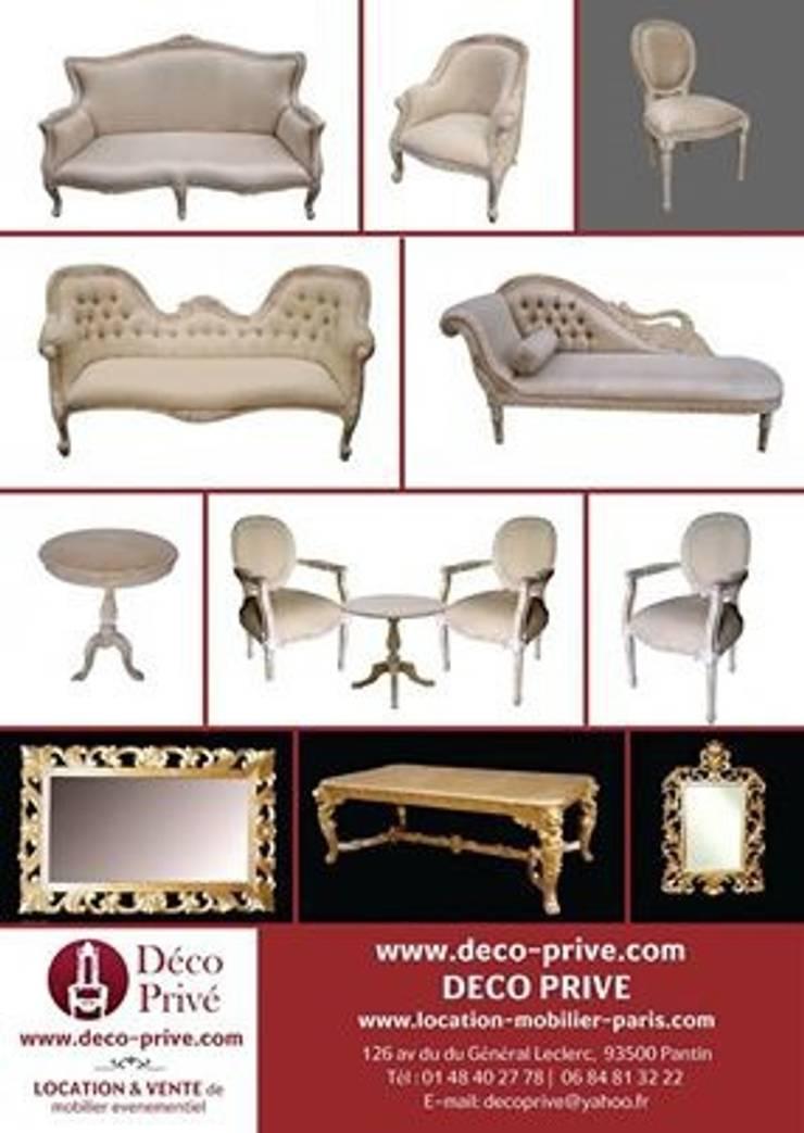 grossiste fabricant meubles baroques: Salon de style de style Classique par déco privé