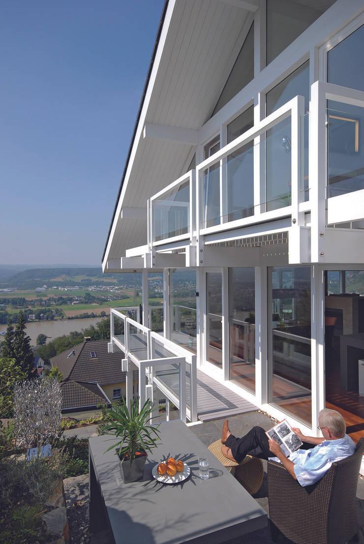 DAVINCI HAUS GmbH & Co. KGが手掛けたテラス・ベランダ