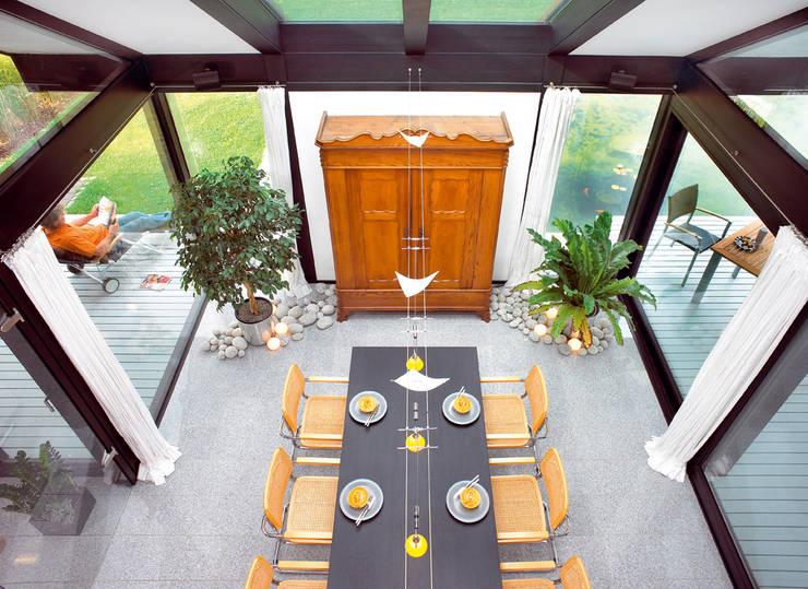 Salas de jantar  por DAVINCI HAUS GmbH & Co. KG