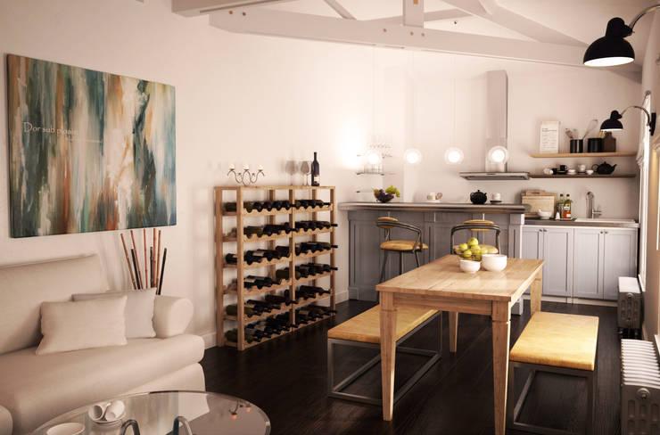 klassische Küche von Agence KP