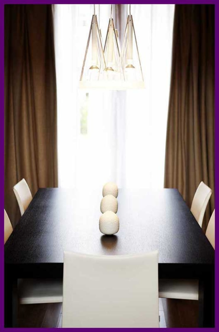 Dining room by Agence KP