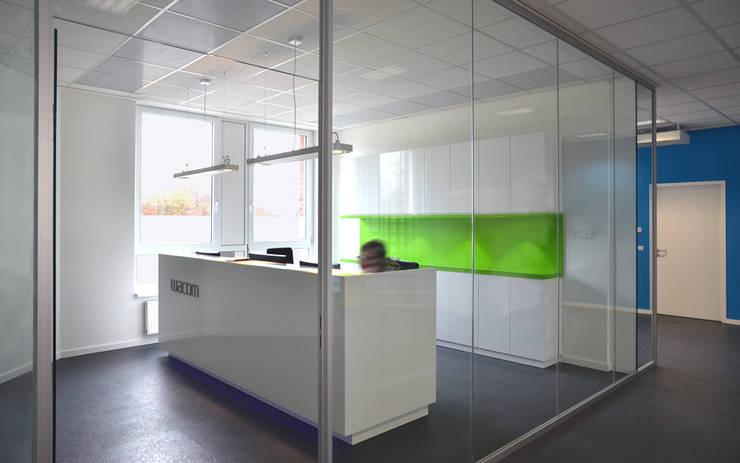 Empfang:  Geschäftsräume & Stores von Scharrer Architektur GmbH,