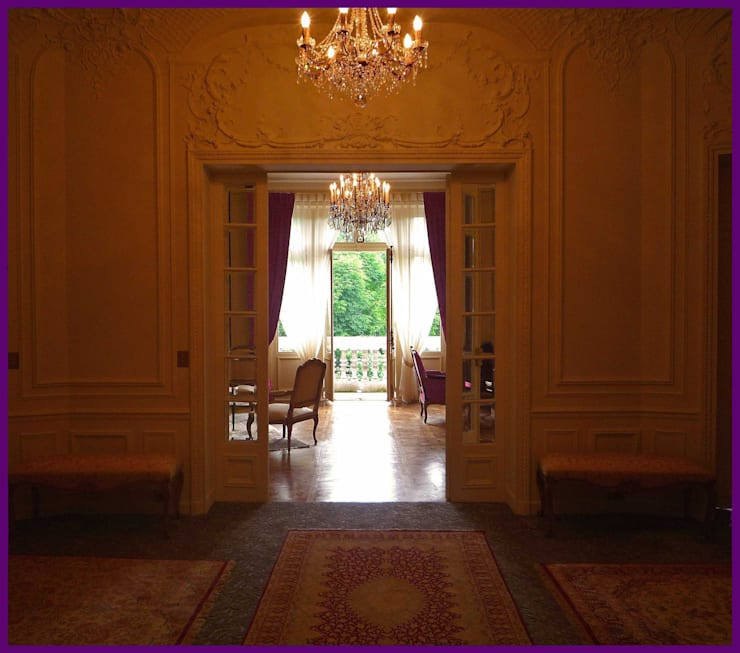 Corridor & hallway by Agence KP