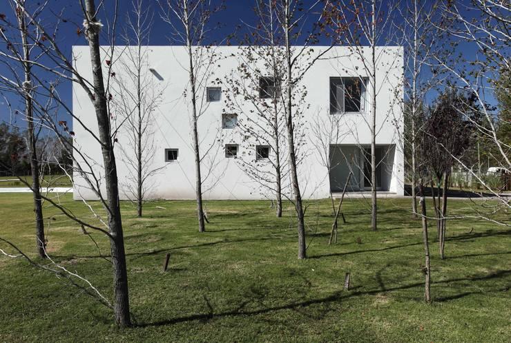 Projekty,  Domy zaprojektowane przez estudio aire