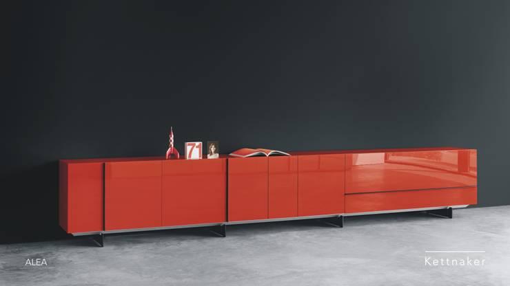 Salas de estilo moderno por Zimmermanns Kreatives Wohnen