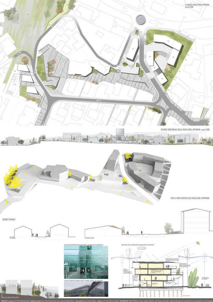 de estilo  por Pizzeghello - Architekten Berlin