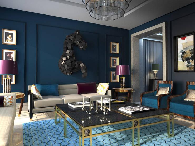 Vivienda en Madrid: Salones de estilo  de diegoLADINO