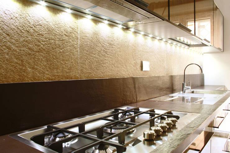 casa LM: Cucina in stile  di CAFElab studio