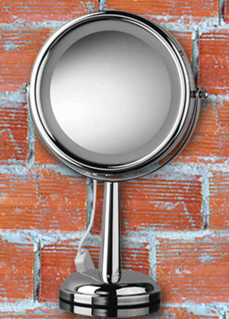 Kosmetikspiegel mit LED Beleuchtung als Standspiegel:  Badezimmer von Kosmetikspiegel - Shop