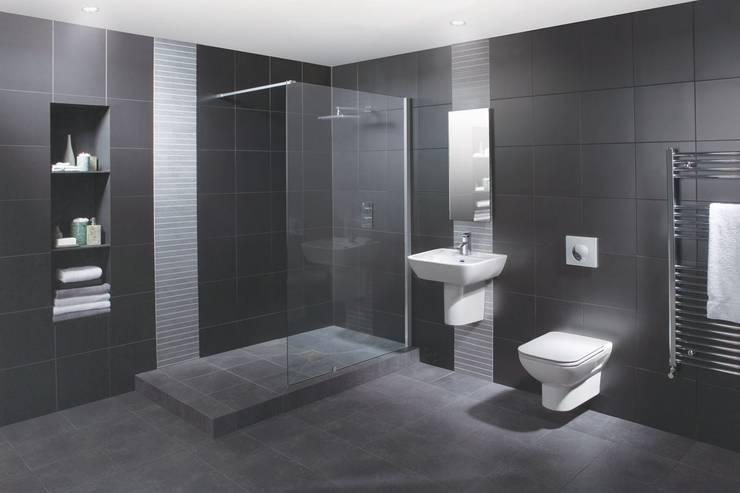 Wetroom Shower Areas:  Bathroom by nassboards