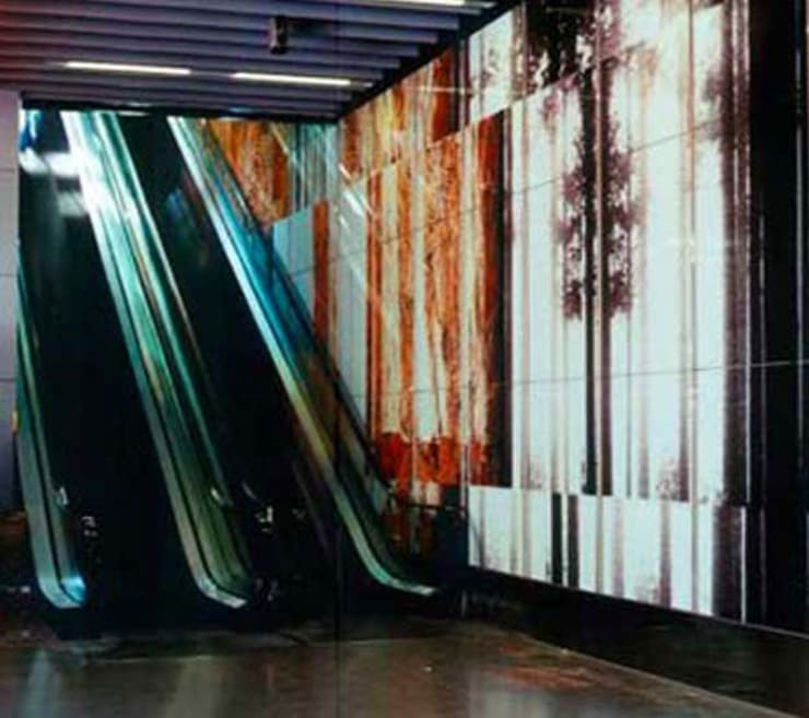 Centro Comercial L'ILLA DIAGONAL: Centros comerciales de estilo  de Octavio Mestre Arquitectos