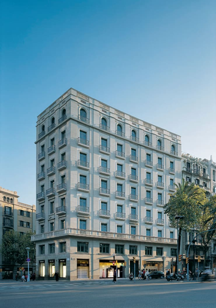 Diagonal 409: Casas de estilo  de Octavio Mestre Arquitectos