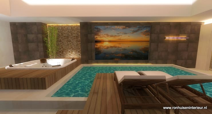 Spa door RON Stappenbelt, Interiordesign