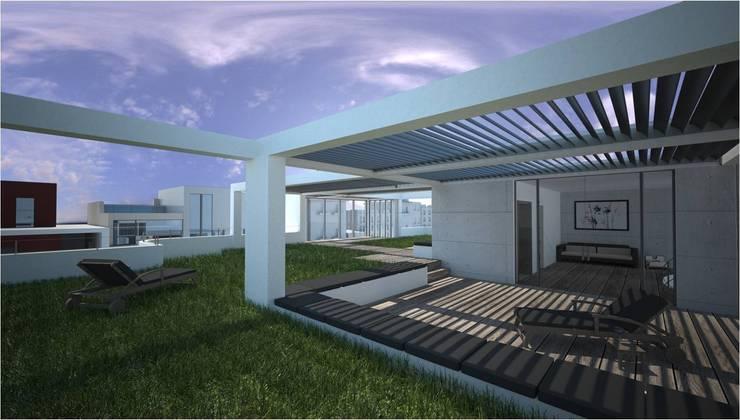 Terrazas de estilo  por Five Core, Moderno