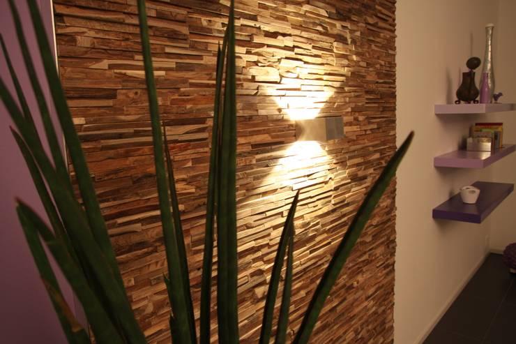 Wandverkleidung Aus Holz Von Bs Holzdesign Homify