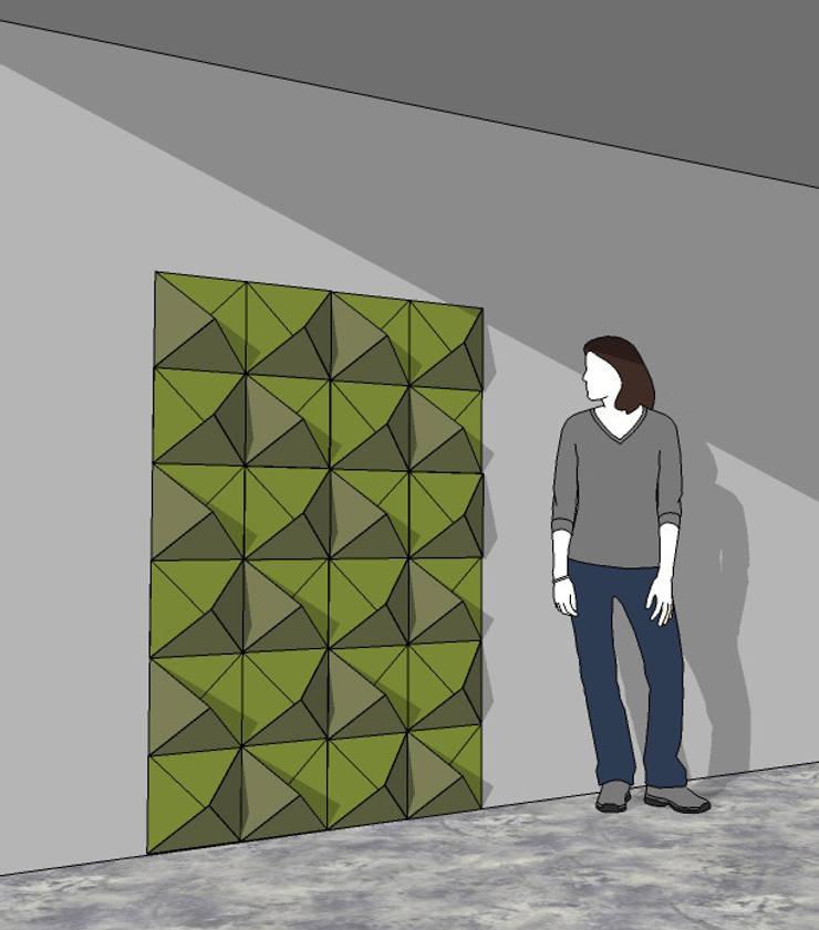 HIRO: Soggiorno in stile  di Elisa Occhielli Architetto
