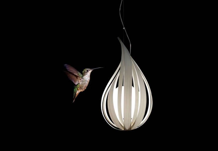 Raindrop / LZF Lamps: Salones de estilo  de Javier Herrero* Studio