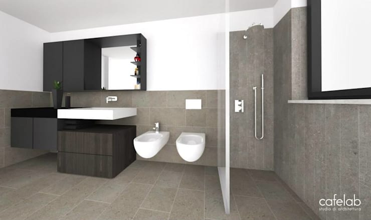 Bathroom by CAFElab studio