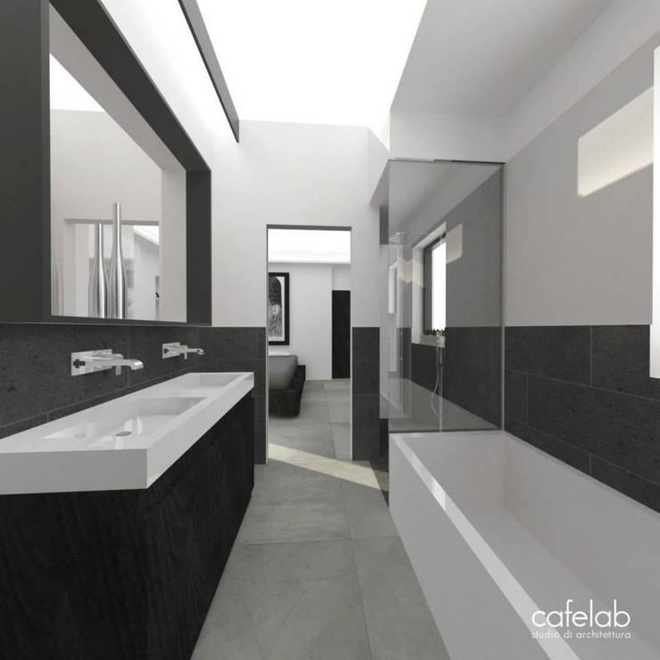 Master bathroom: Bagno in stile  di CAFElab studio