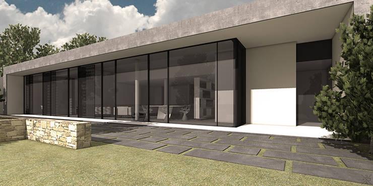 Maison Moderne à Grenoble: Maisons de style de style Moderne par +33architectes