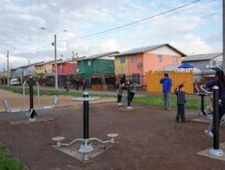 Elementos Saludables de BENITO URBAN en Chile: Gimnasios domésticos de estilo  de BENITO URBAN SLU