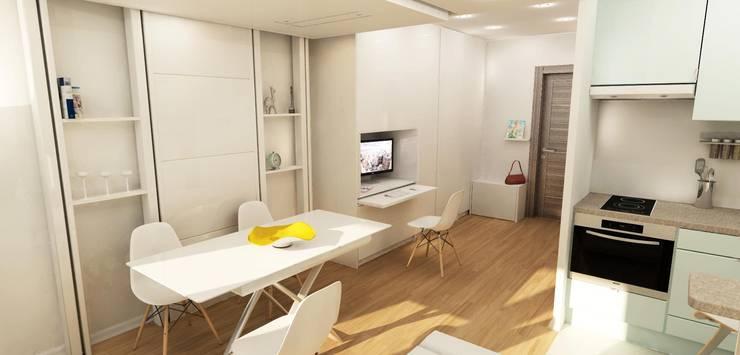 Entrée: Salon de style de style Moderne par Design By Solène Utard
